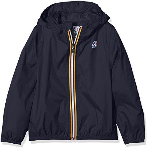 K-way vrai 3.0 claude, giacca impermeabile bambino, blu (blue depht), 152 (taglia produttore:y2)