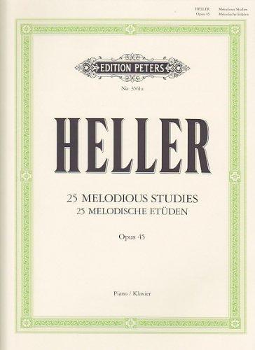 Etudes mélodiques Op.45 - Piano