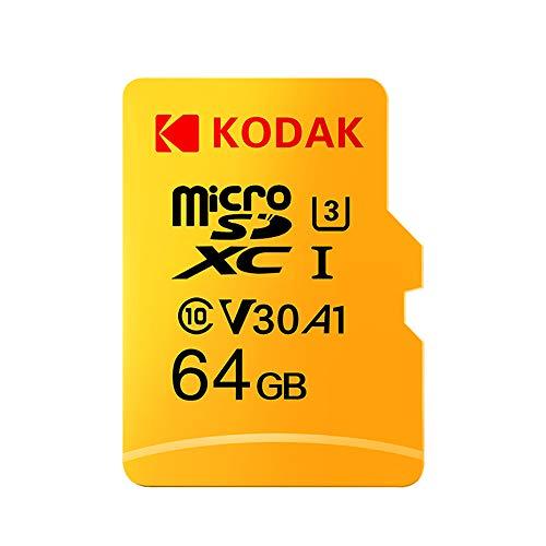 Grborn Tarjeta Kodak Micro SD Tarjeta 64GB