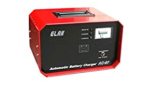 Elak AC-07 Motorcycle / Two Wheeler Battery Charger