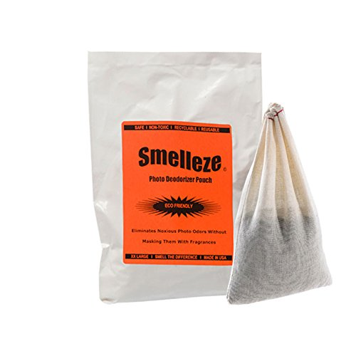 Smelleze riutilizzabile photo smell removal Deodorizer Pouch: Rids odore Senza