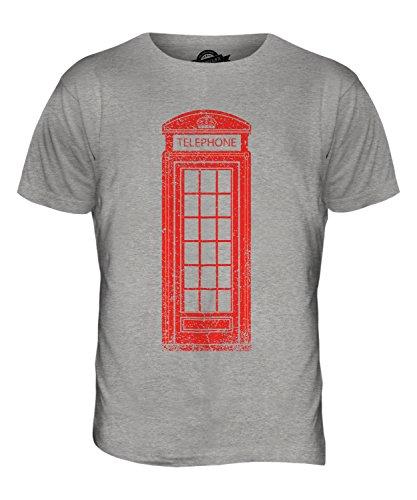 CandyMix Telefonzelle Herren T Shirt Grau Meliert