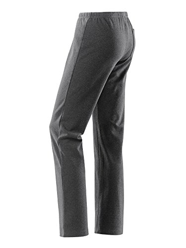 Michaelax-Fashion-Trade - Pantalon de sport - Relaxed - Uni - Femme Gris - Grey - Asphalt melange (00265)