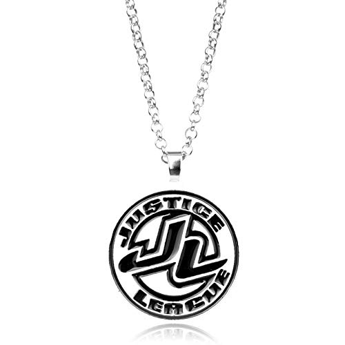 Justice League Movie Jewelry Necklace Charm Round Pendant Necklace Superhero Gift For Men Women Cosplay Accessoires