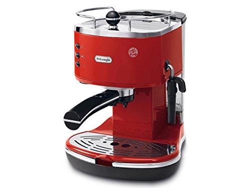 De'Longhi ICONA  ECO310.R, Macchina per Caffè Espresso con Pompa,  Rosso
