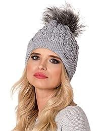 Amazon.es  Gorro De Navidad - Gorros de punto   Sombreros y gorras  Ropa dc6bea369d6e