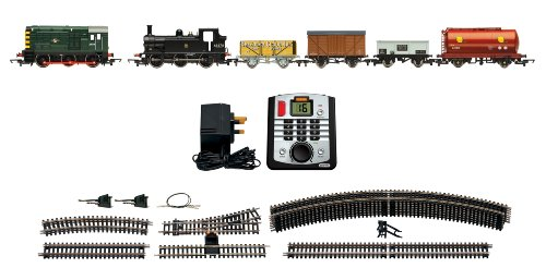 Hornby Mixed Freight Gauge DCC Electric Train Set, Multi Color