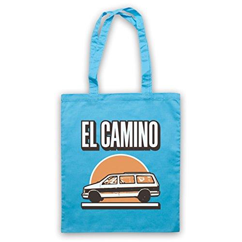 Inspiriert durch Black Keys El Camino Inoffiziell Umhangetaschen Hellblau