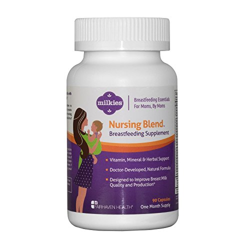 Milkies Nursing Blend to Increase Breast Milk Quantity and Quality