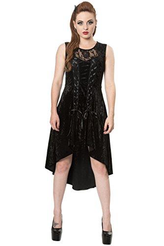 Goth Prom Dresses (Lost Queen Kleid GOTH KEEPER DRESS 5165 Schwarz)
