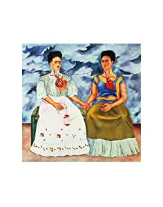 frida kahlo die zwei fridas 1939 kunstdruck. Black Bedroom Furniture Sets. Home Design Ideas