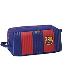 FC Barcelona Neceser, 34 cm, Azul / Granate