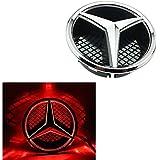 Mercedes Benz 2011 2015 Kühlergrill Led Emblem Auto Beleuchtetes Zeichen Leuchtende Stern Tagfahrlicht Weiß Fahren Sie Heller Schlauer Auto