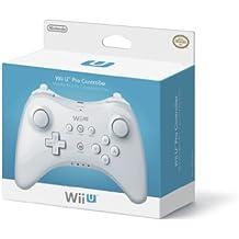 Nintendo Wii U Pro Controller - Volante/mando (Gamepad, Inalámbrico, Nintendo Wii U, D-pad, Hogar, Poder, Select, Start, Analogue / Digital, Color blanco)
