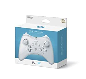 Nintendo Wii U WUPARSWA Pro Controller - Blanc
