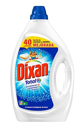Dixan Detergente Gel Total - 40 lavados...