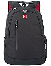 "Winkee SA7050 Mochila para ordenador portátil de hasta 14,6"" pulgadas, negro"