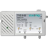 Axing TVS 6-00 amplificatore 30 dB per digitale terrestre antenna tv e radio (FM e DAB), 2 ingressi FM e VHF/UHF - Trova i prezzi più bassi su tvhomecinemaprezzi.eu