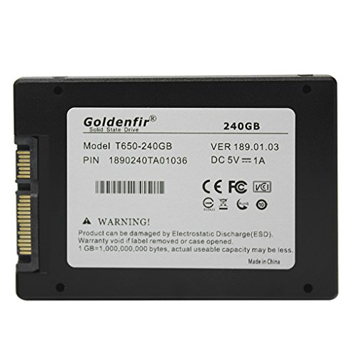 "Preisvergleich Produktbild Goldenfir SATA 3.0 2.0 2.5"" Solid State Drive Festplatten-SSD Laptops Ersatz Zubehör 16G / 32G / 120G / 240G Regard"