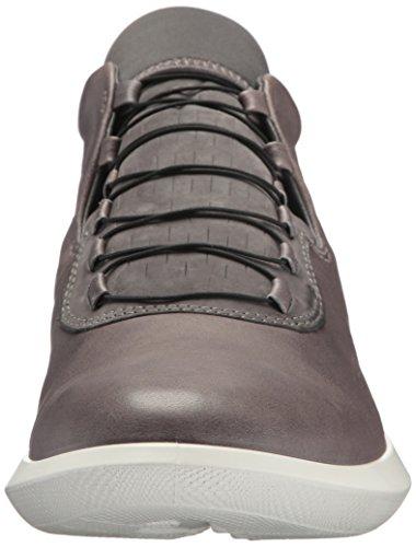 Ecco Scinapse, Sneaker a Collo Alto Uomo Grigio (Wild Dove/dark Shadow)