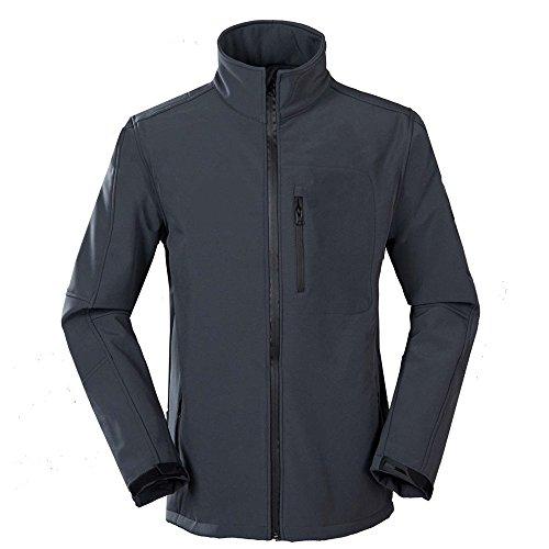 Uglyfrog Bike Wear Softshell Jacken Herren Windkapuze Radsport Camping & Outdoor Bekleidung Full Zip WINDSTOPPER Autumn/Winter Style 118 (Jersey Adidas-full Zip)