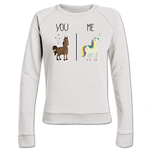 Shirtcity You and Me Horse and Unicorn Frauen Sweatshirt by