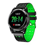 Sport Schritt für Schritt tragen Smartwatch Bluetooth Headset Kombination Smartwatch, Blutdruck Sauerstoff Herzfrequenz Smartwatch-Green