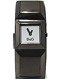 D&G Dolce&Gabbana Damen-Armbanduhr DANCE LDY IP BLACK SLV DIAL BLACK STRAP DW0274