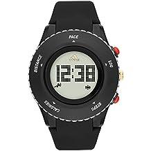 adidas Stan Smith - Reloj de cuarzo con correa de plástico para hombre, color blanco