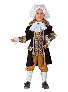 clown republic- Amadeus Costume, niño, 32906/06, color blanco