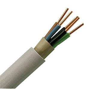 Kopp 153250844 Mantel-Leitung NYM-J, 5 x 2.5 mm², 50 m, grau