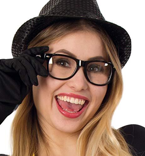Preisvergleich Produktbild Nerd-Brille,  Faschings-Zubehör