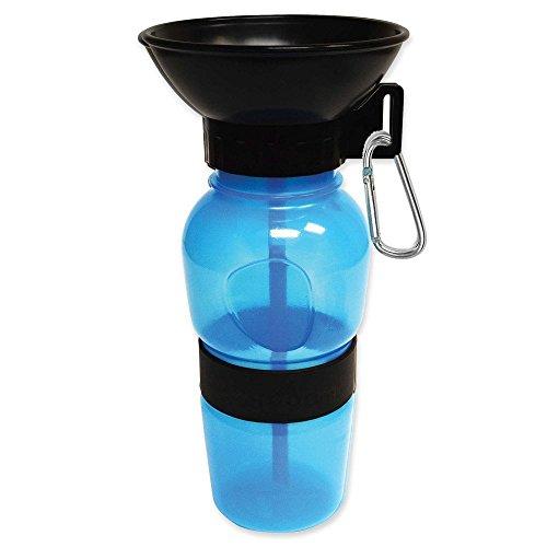 Portable Reise-Hund Wasserflasche, BPA-FREIER Aqua-Hundetasse
