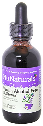 NuNaturals, Vanilla Stevia, Alcohol Free, 2 fl oz (59 ml)