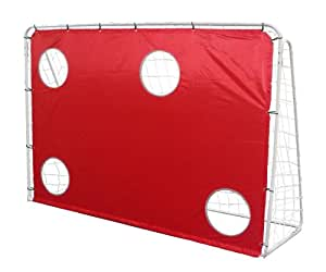 Debut Kids Target Shot Goal - White, 7X5 Ft