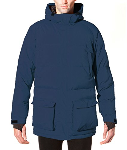 ECOALF - Samoens Jacket Man, Piumino da uomo, blu (deep navy 161), XL