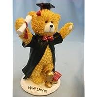 Ben fatto, Novalty colore marrone orso ornamento in confezione regalo - Orso Regalo Ornamento