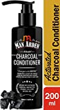 Man Arden Activated Charcoal Cream Conditioner with Argan Oil - 200ml - Deep