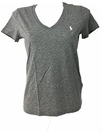 Eur Mujer es Amazon Ropa V Camisetas 50 20 Cuello 7Saq0w