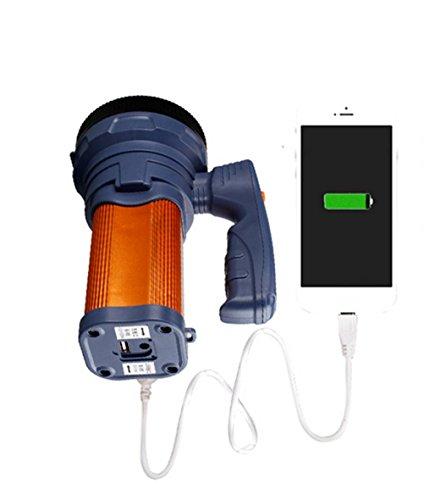 Preisvergleich Produktbild XQF Scheinwerfer - Super Helle Hand, Um Die Helle Langstrecken-Xenonlampe Zu Verbessern --- Lithium-Batterie Wiederaufladbare Taschenlampe Notbeleuchtung