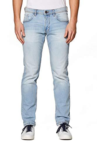 edc by ESPRIT Herren 029Cc2B008 Straight Jeans, Blau (Blue Light Wash 903), W31/L34 (Herstellergröße: 31/34) -