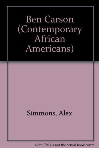 Ben Carson (Contemporary African Americans)