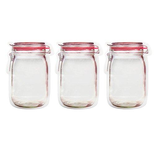 URIJK Aufbewahrungsbeutel Gemüsebeutel Nussmilchbeutel Küche Kühlschrank Obst Lebensmittel Flasche Förmige Beutel Lebensmitteltasche