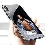 étui pour téléphone Coque Samsung Galaxy A10 Cover,Verre trempé Quatrième de Couverture Silicone Anti-Rayures Chute Pare-Chocs étui de Protection LC-173 Lil Wayne Rapper Protective Case Coque