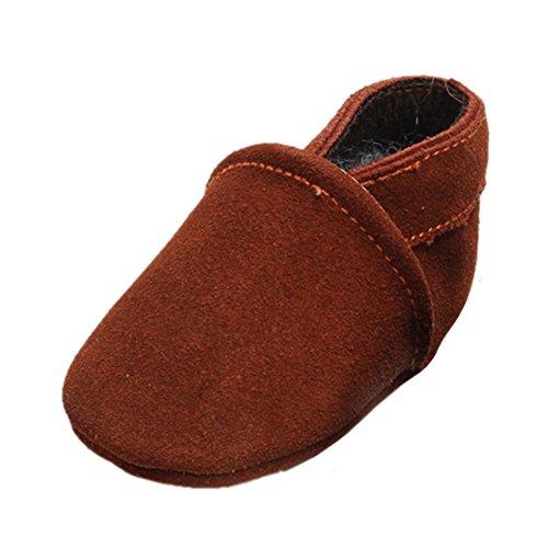 leap frog  Boat Sneakers, Baby Jungen Lauflernschuhe, Braun - braun - Größe: 18-24 Monate (Star Schuhe First Crib)