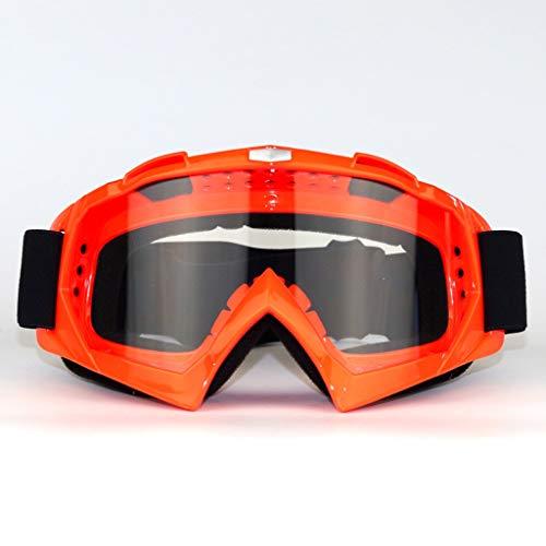 MUTANG Ski Snowboard mit UV-Schutz Anti-Fog Doppel-Objektiv Helm Kompatibel für Motorrad Radfahren Skifahren Staub- und Sandproof Goggles (Farbe : F)