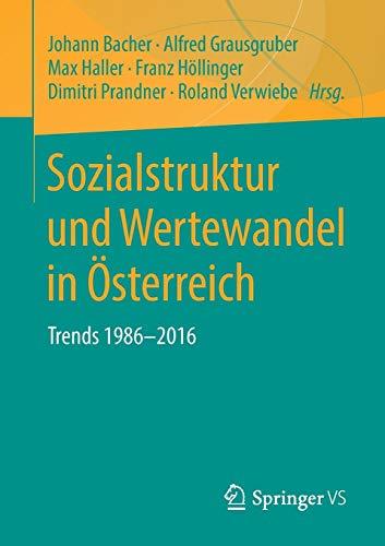 Sozialstruktur und Wertewandel in Österreich: Trends 1986-2016