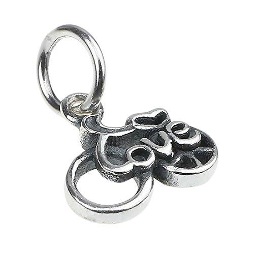 Beads Hunter Pendentif pour colliers et bracelets–Argent 925/1000 love bike