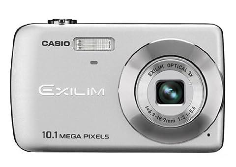 Casio EXILIM EX-Z33 SR Digitalkamera (10 Megapixel, 3-fach opt. Zoom, 6,4 cm (2,5 Zoll) Display) silber
