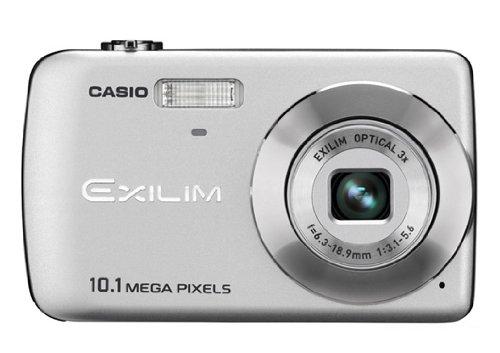 Casio EXILIM EX-Z33 SR Digitalkamera (10 Megapixel, 3-fach opt. Zoom, 6,4 cm (2,5 Zoll) Display) silber (Kamera Casio Digital)